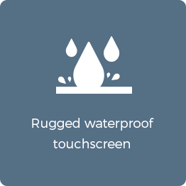 rugged waterproof touch screen