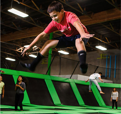 Electronic Lockers for trampoline parks