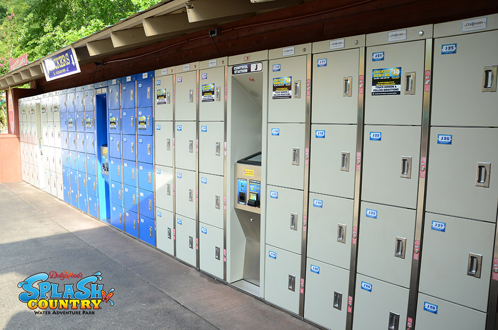 Theme Park Lockers - Keyless, Secure & Electronic | The