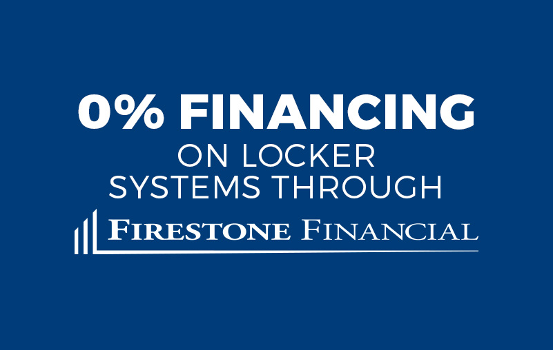 Locker financing from Firestone Financial