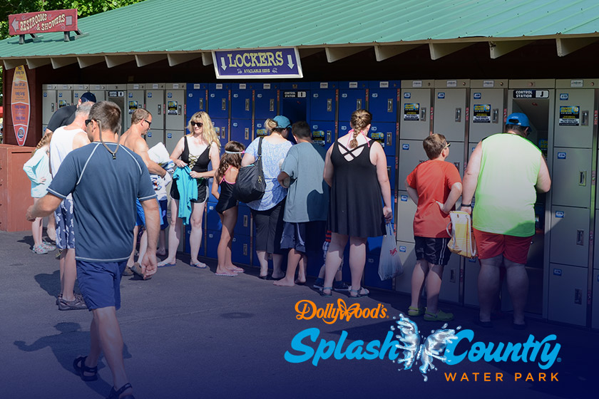 Dollywood Splash Country Electronic Lockers